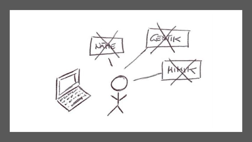"""Virtuelle Kommunikation vs. """"traditionelle"""" Kommunikation"""