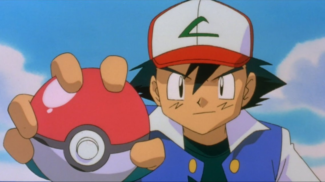 Ash Ketchum in Pokemon