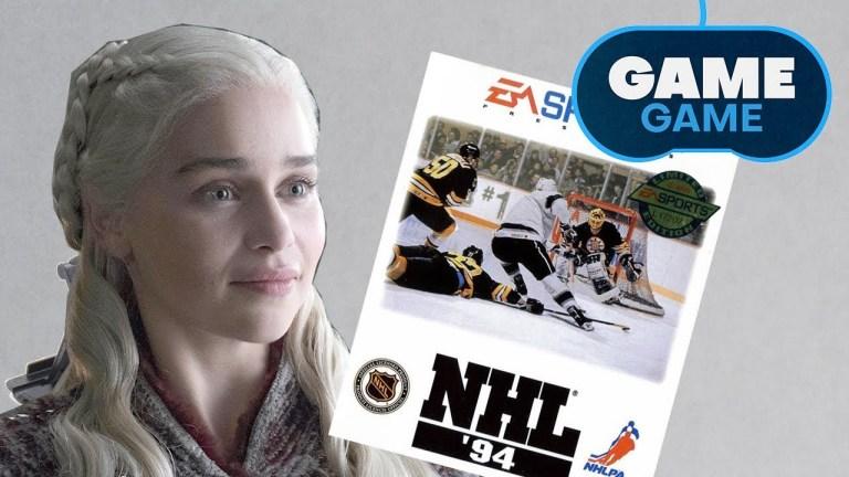 Game of Thrones - Sega Genesis - NHL '94
