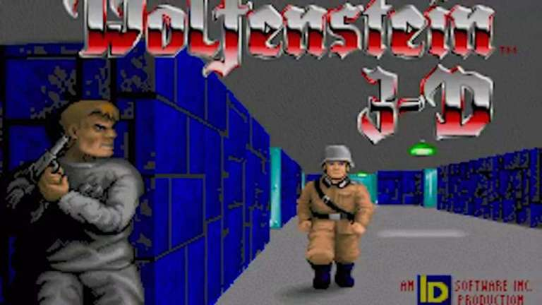 Wolfenstein 3D on MS-DOS