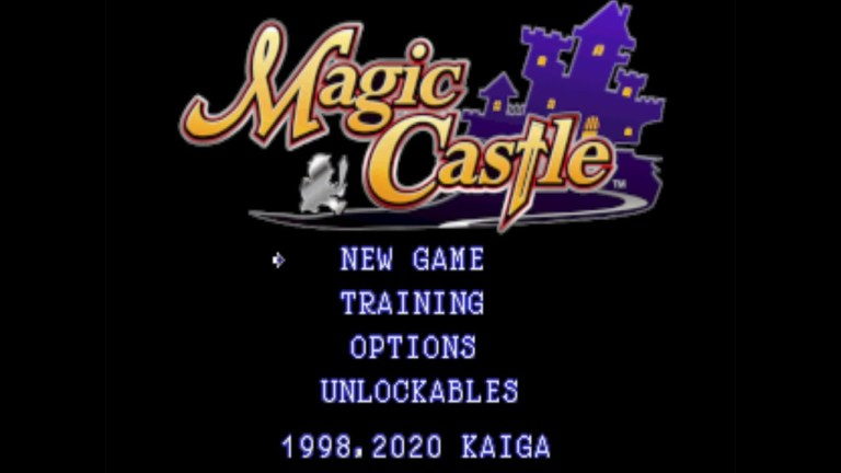 Magic Castle title screen