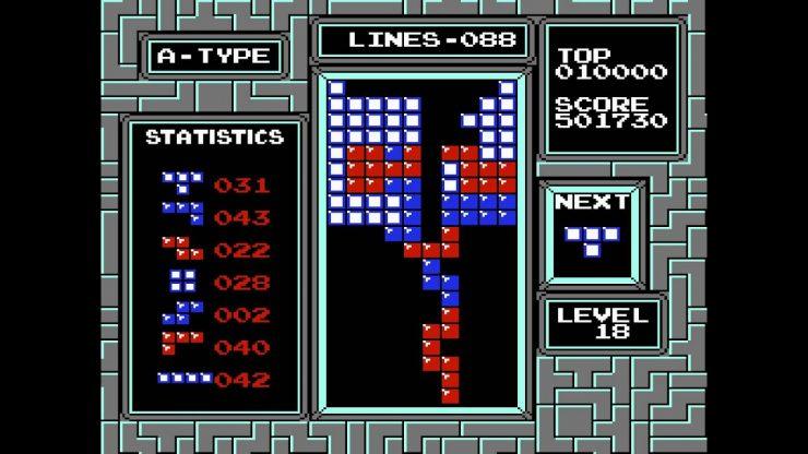 Tetris on the NES