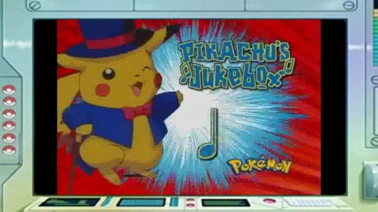pikachu's jukebox