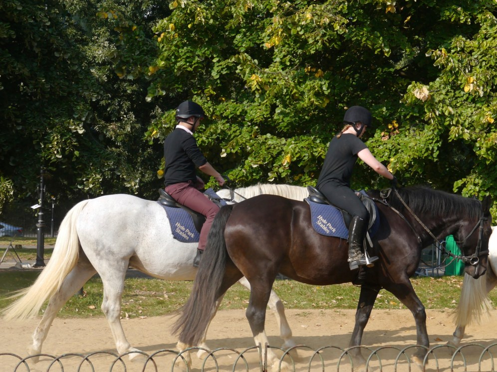 hyde park 2 horses
