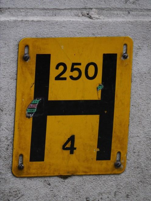 London fire hydrant Regent Street wall 2