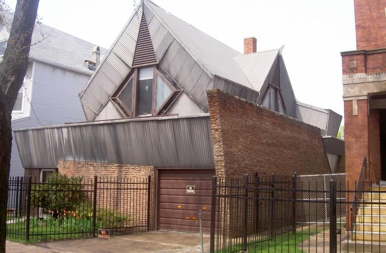 Myron Bachman House by Bruce Goff