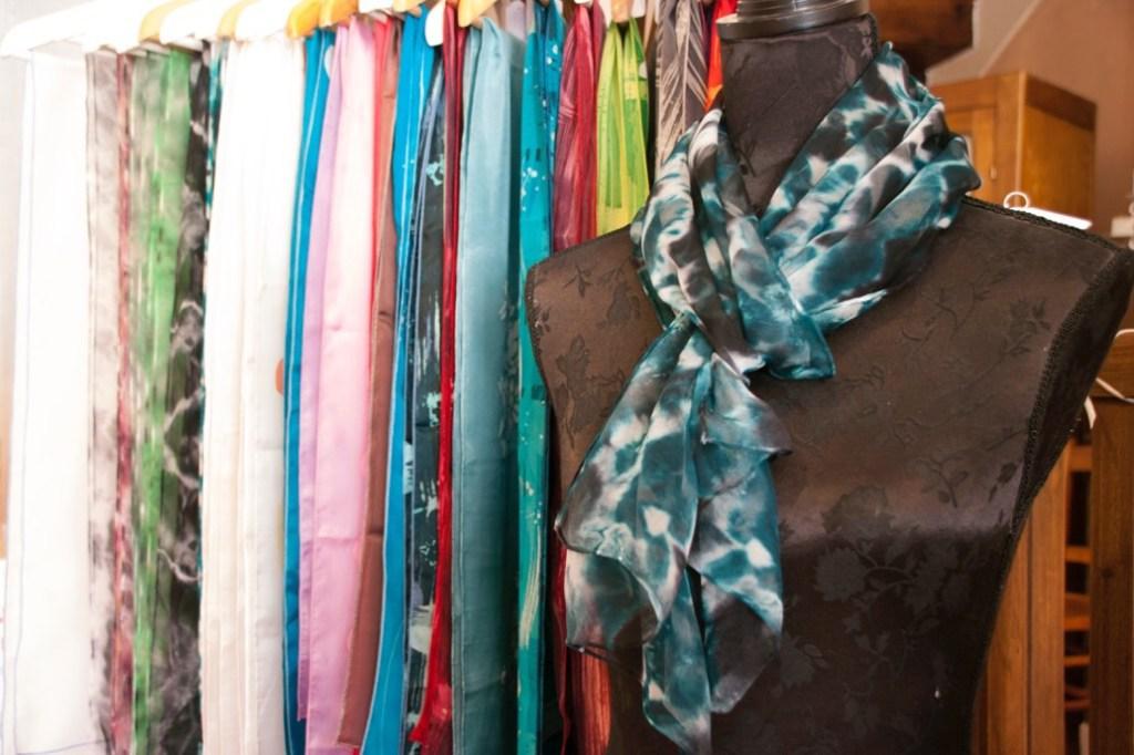 Handmade scarves Sancerre