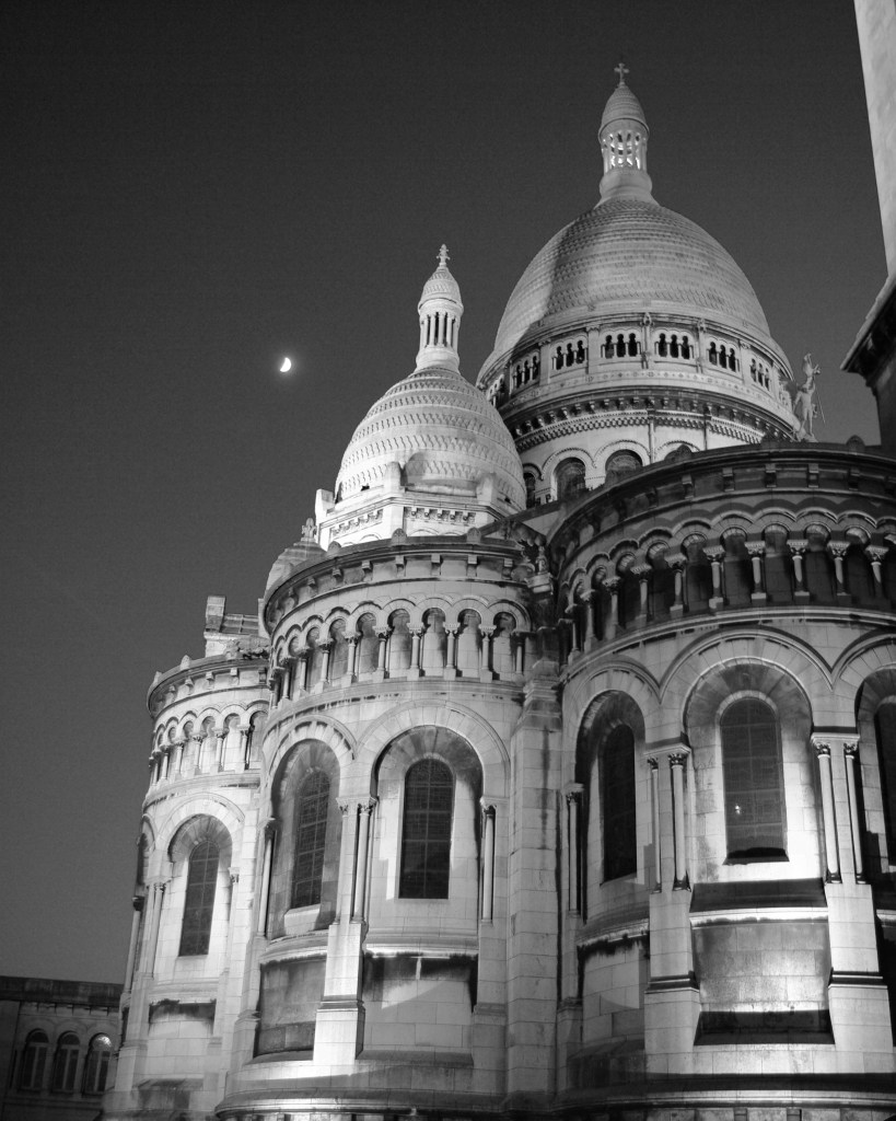 Sacré-Coeur. One of my favourite Parisian churches.