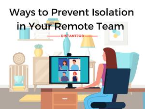 remote work isolation