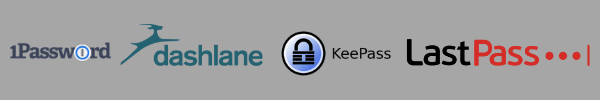 Password managment tools: 1Password, Dashlane, KeePass, LastPass