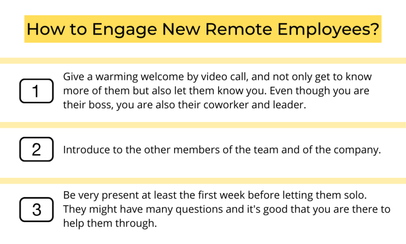 How to Engage New Remote Employees?