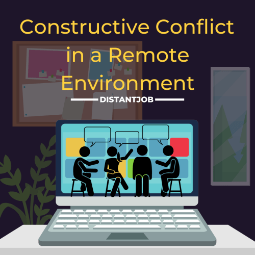 constructive conflict in a remote environment