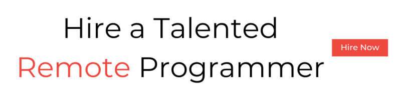 Hire a talented remote programmer