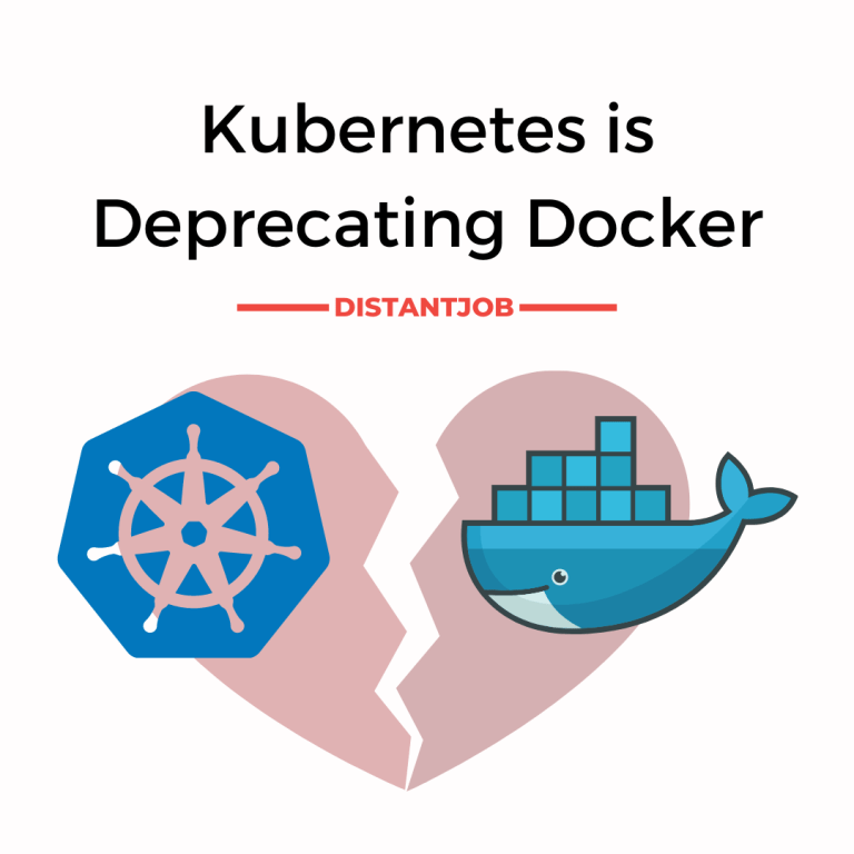 Kubernetes is deprecating Docker