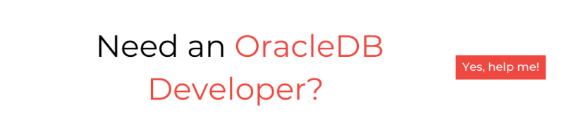Need an OracleDB developer? Hire now!
