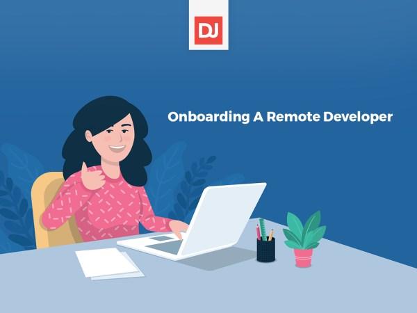 Onboarding A Remote Developer