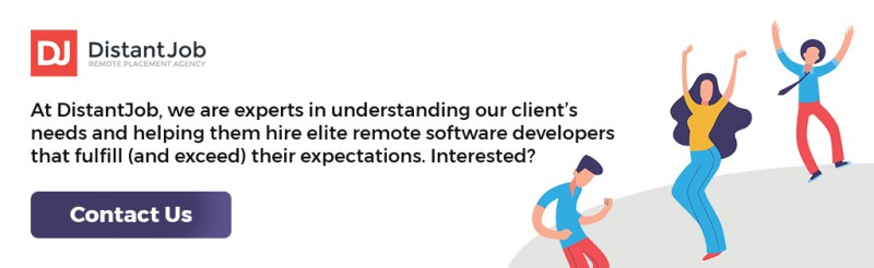Hire software developers with DistantJob