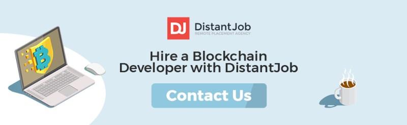 Hire a Blockchain Dev with DistantJob