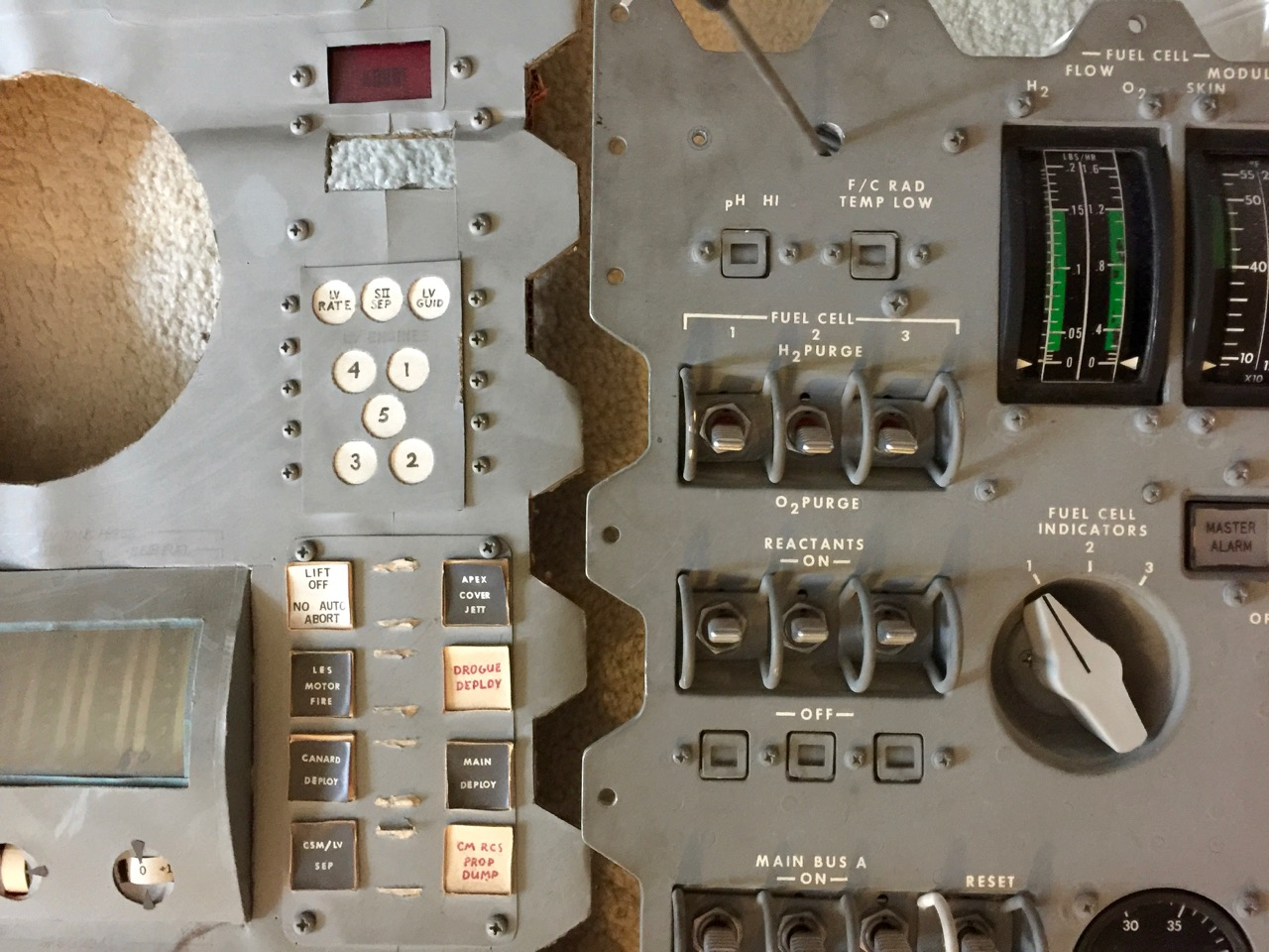 apollo capsule control panel - photo #38