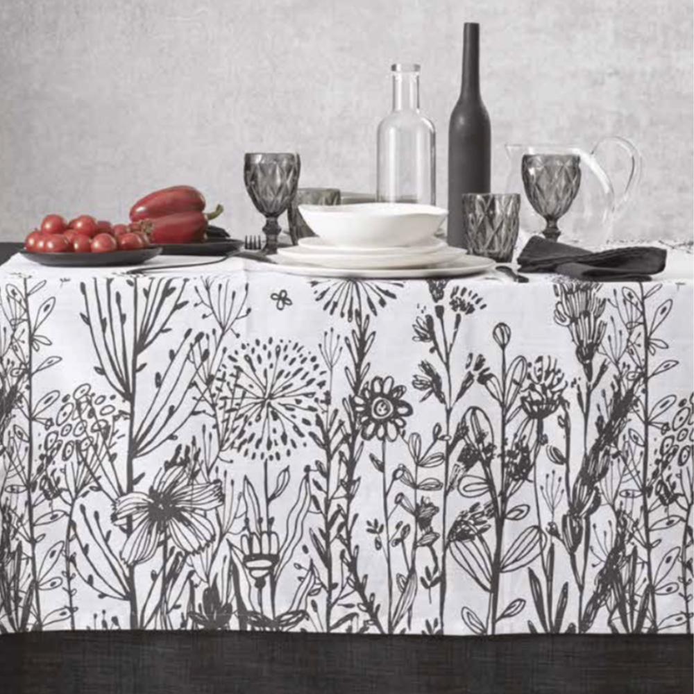 tovaglie in puro lino made in italy per la sala da pranzo o cucina. Tovaglia You Me By Maison Sucree Tovaglie Moderne Misto Lino