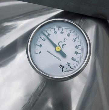 Thermomètre de cuve