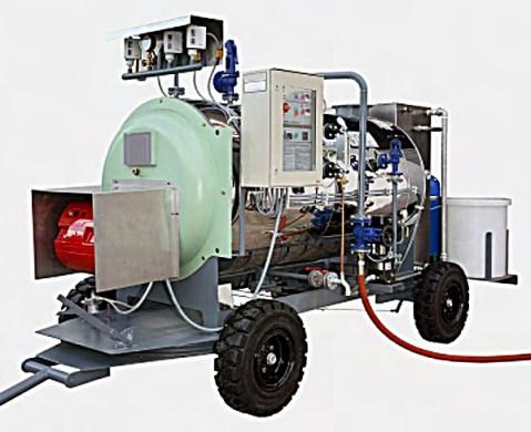 chaudière vapeur mobile