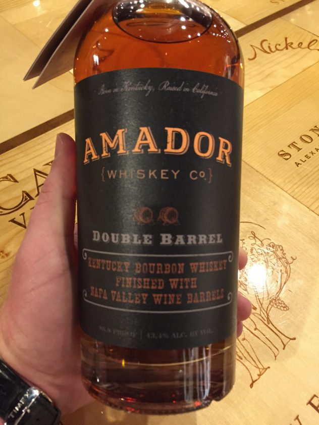 Amador Double Barrel Whiskey
