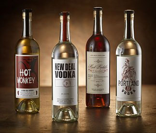 New Deal Vodka Line