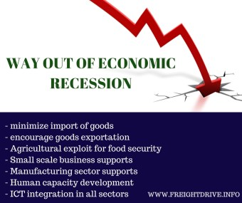 7 ways out of Nigeria Economic recession with practical steps