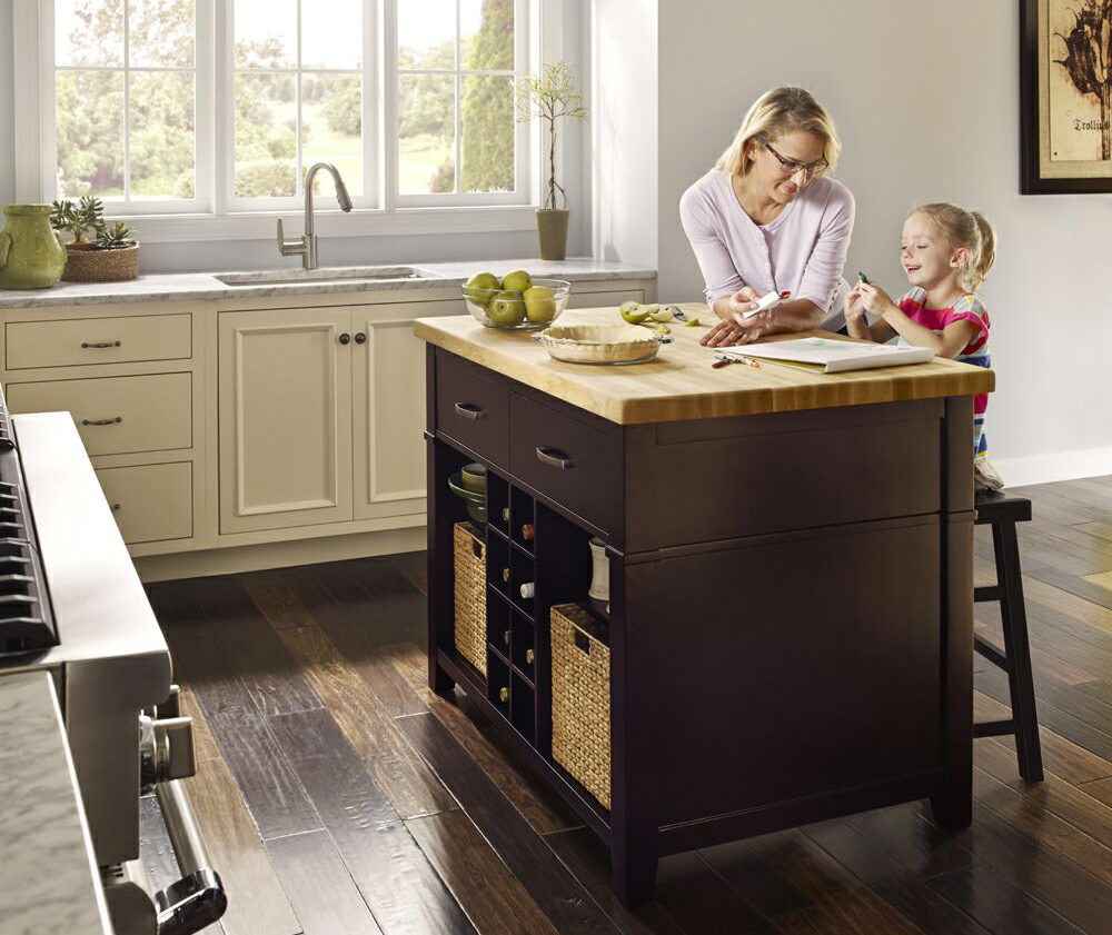 best place to buy kitchen island amish table distinctive cabinetry how islands increase storage bay area