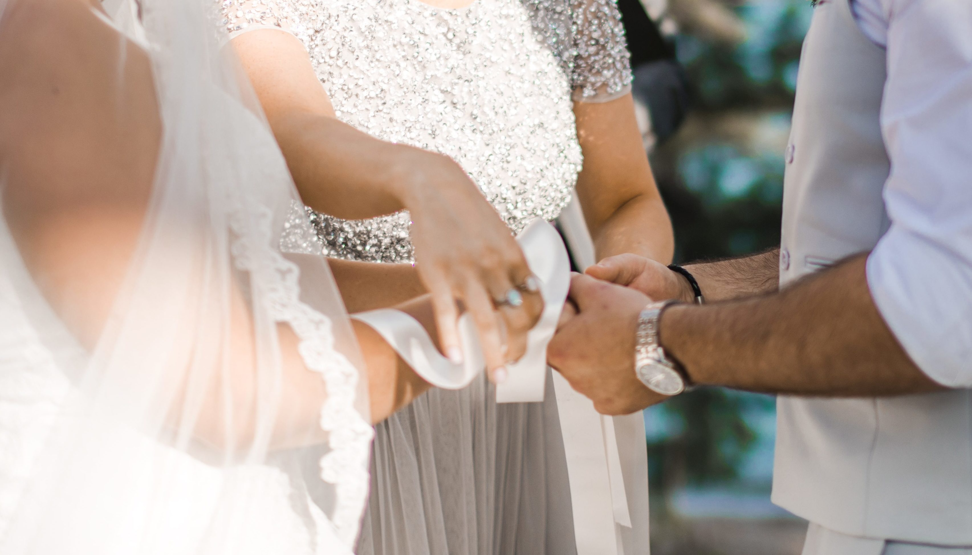 The hand-fasting ceremony