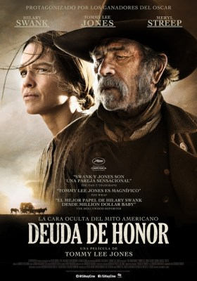 Deuda de Honor the homesman afiche
