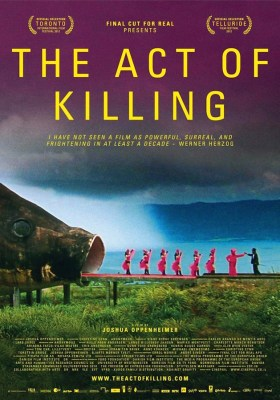 The Act of Killing (poster) Distinta Mirada
