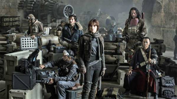 Star Wars Rogue One Cast secundaria