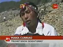 El cementerio inundado: un ejemplo más del conflicto mapuche