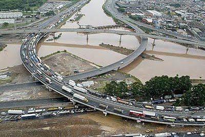 La ciudad, el río y las lluvias