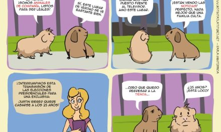 Demócrito y Platón (Tira cómica desde El Salvador)
