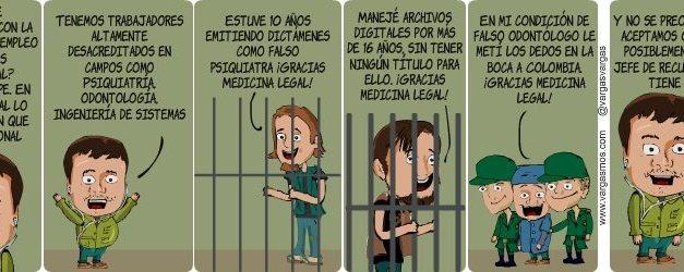 Medicina legal, ¿empleo ilegal?