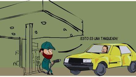 Sube que sube (la gasolina)