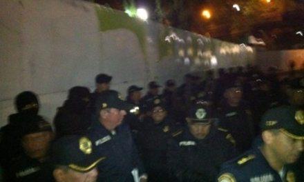 GDF rechaza agresiones por Supervía. Manifestantes documentan agravios