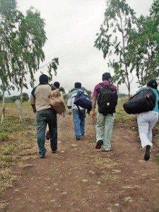 Los caminos de los chochos (nicaragüenses) a Tiquicia (Costa Rica)