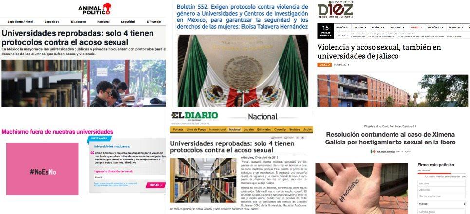 ¿Qué pasó después del reportaje sobre acoso sexual en universidades mexicanas?