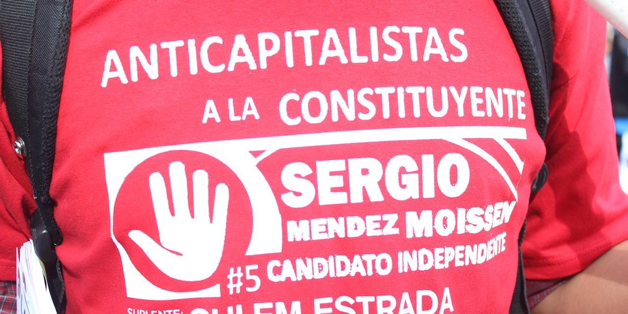 Sergio Moissen, el candidato que quiere pintar de rojo la Constituyente de la CDMX
