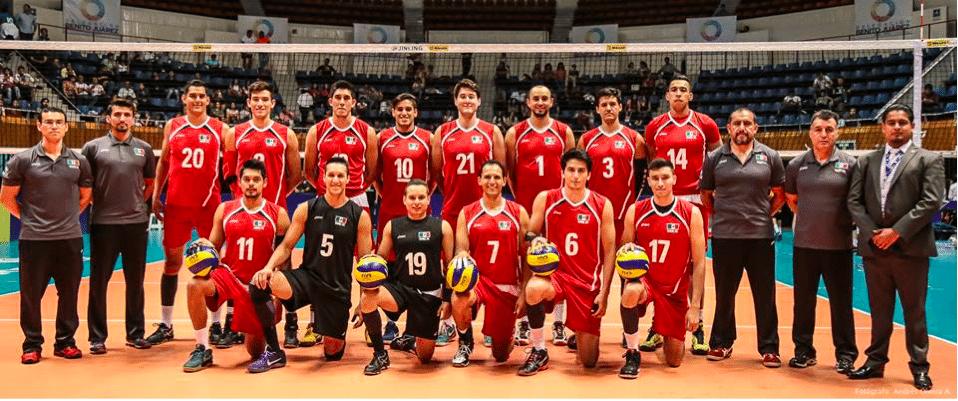 Equipo durante la liga mundial, 15 días después de lograr la clasificación a Río.