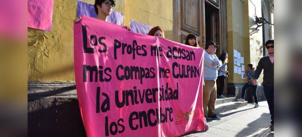 Sufren acoso sexual 15% de estudiantes en la Universidad de Chile