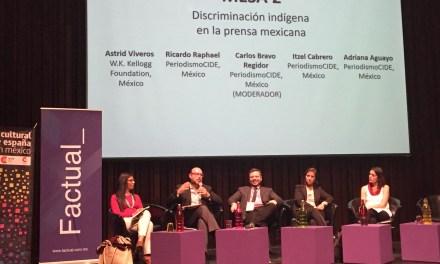 """""""La cobertura de temas indígenas en los medios es muy mala o casi nula"""""""