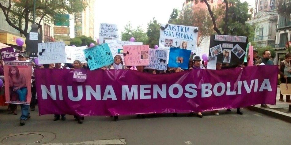 25N Bolivia: sin mujeres no hay revolución