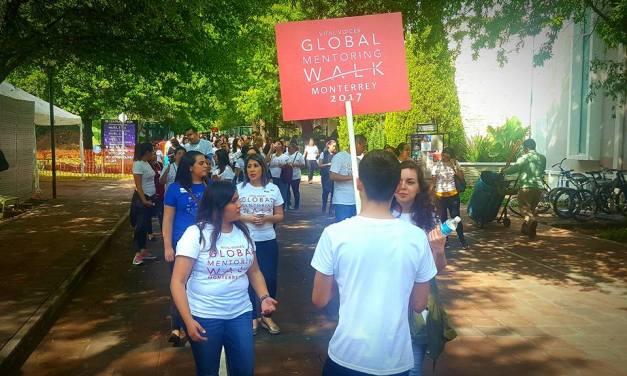 Emprendedoras que caminan: así fue la primera Global Mentoring Walk Monterrey