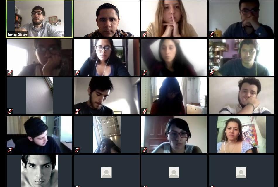Perfiles periodísticos: una sesión con Javier Sinay y la Red Latam de Jóvenes Periodistas