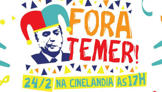 Brasil pidió la renuncia de Michel Temer con una protesta política y cultural
